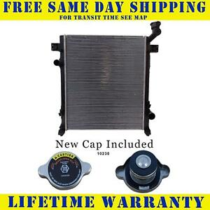 Radiator With Cap For Dodge Fits Nitro 3 7 4 0 2971wc