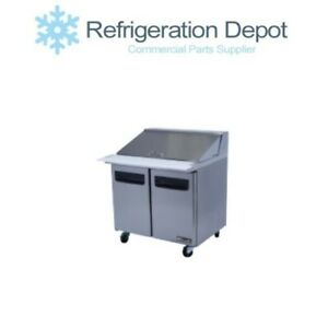 Blue Air Blpt36 Sandwich Prep Table One Door 9 5 Cu ft
