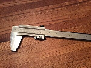 Cse Vernier Caliper 27 Machinist Precision Tool Made In Germany Pre Owned