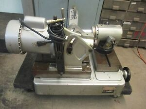 Cuttermaster Fcg 30 End Mill Grinder sharpener_year 1981_powers Up