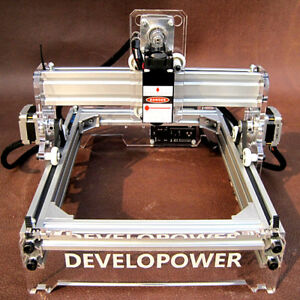 2000mw A5 17 X 20cm Laser Engraver Cutting Machine Desktop Engraving Printer