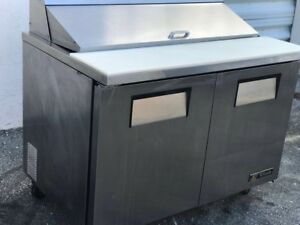 Ice Cold 48 Stainless Steel With Salad Prep Table
