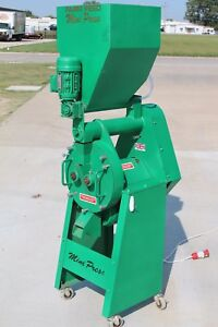 Mini Press Mini Pellet Mill With Ring Die And Augered Feed Hopper