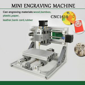 3 Axis Mini Engraving Machine Engraver Cnc Router 1610 Pcb Wood Plastic Pvc Pcb
