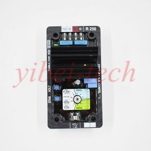 Automatic Voltage Regulator Avr Controls Module Card R250 For Leroy Somer Usa