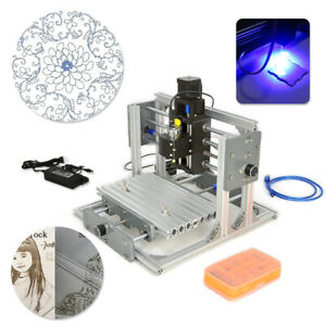 2417 Mini Engraving Milling Machine Engraver Cnc Router Pcb Metal Desktop Diy