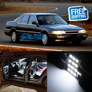 13x White Led Replacement Light Interior Bulb Package For Acura Legend Coupe