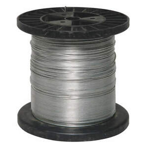 Robtec Electric Fence wire 4lvr1 17 Ga 1320 Ft Steel Security farm Free S h