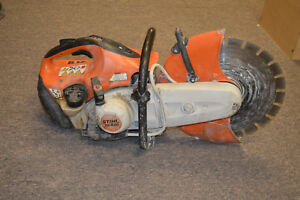 Stihl Ts420 14 Concrete Cut off Saw Pre owned Free Shipping