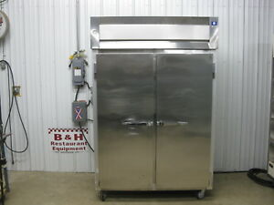 Mccall 4 4045f Two 2 Door Stainless Steel Heavy Duty Commercial Reach In Freezer