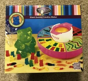 Nostalgia Electrics Gummy Candy Maker New In Box Great Holiday Present