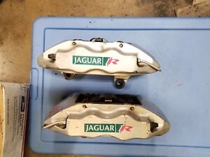 2003 04 06 07 2008 Jaguar S Type R Xjr Supercharge Brembo Front Brake Calipers