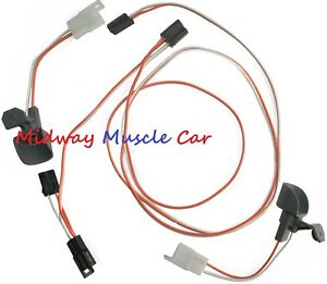 Under Dash Courtesy Light Wiring Harness Chevy Gmc 67 72 Pickup Truck Blazer