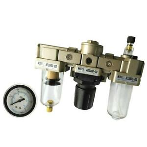 Ac3000 03 Pressure Regulator Particulate Filter 3 8 Compressed Air Gauge