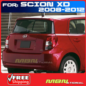 08 Scion Xd 4dr Wagon Rear Tail Trunk Roof Spoiler Primer Unpainted Abs