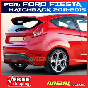 For 11 15 Ford Fiesta 5 Door Hatch Rear Trunk Spoiler Painted Abs U6 Candy Red