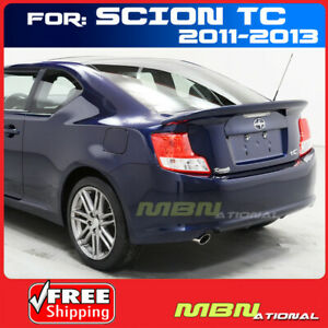 2011 Scion Tc Coupe Flush Mount Rear Trunk Tail Wing Spoiler Unpainted Primer