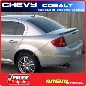 05 10 Chevy Cobalt Sedan Trunk Spoiler Color Painted Wa815k Arrival Blue Met