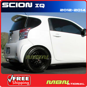 12 Scion Iq Roof Top Rear Trunk Spoiler Color Match Painted 070 Blizzard Pearl