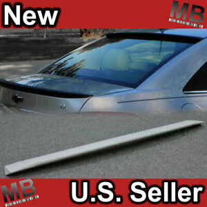 11 13 Chevy Cruze 4dr Sedan Rear Roof Spoiler Abs Grey Primer
