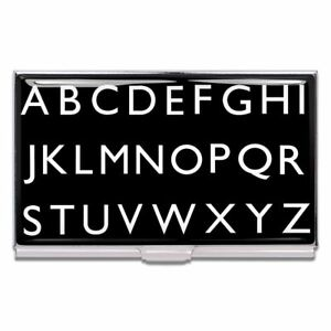 Alphabet Business Card Case By Rod Dyer For Acme Studio