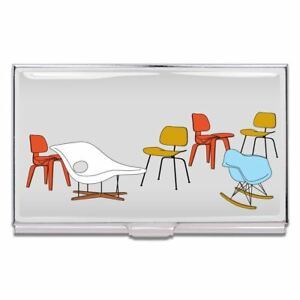 Eames Chairs Business Card Case By Charles Ray Eames For Acme Studio