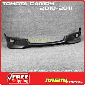 For 10 12 Toyota Camry Se Front Bumper Lower Lip Spoiler Valance Replacement