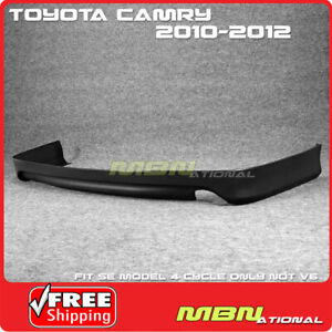 For 10 11 Toyota Camry Se Rear Bumper Lower Lip Spoiler Valance Replacement