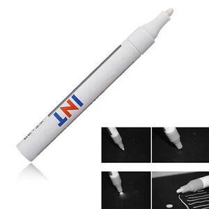 12 Pcs White Waterproof Permanent Car Suv Motorcycle Tire Tread Marker Paint Pen
