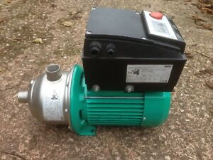 Wilo Mhie 203n 4171764 Stainless Horizontal Multistage Pump 400v 642