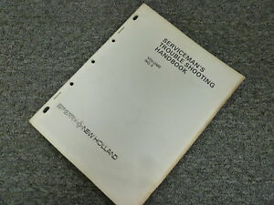 New Holland 344 345r 345l Spreader Service Serviceman s Troubleshooting Manual