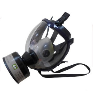 Full Face Silicone Respirator Mask Nbc Protection For Industrial Use Chemical