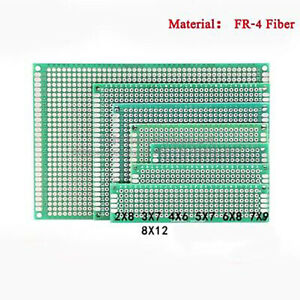 Double side Tinned Prototype Fr 4 Glass Fiber Universal Printed Circuit Board
