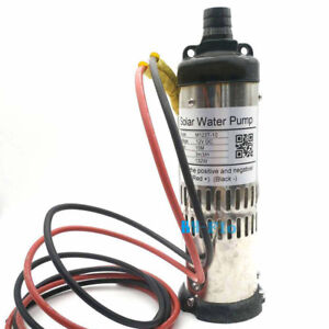 Dc 12v Brushless Solar Submersible Deep Well Water Pump 132w 32 8ft Lift Max