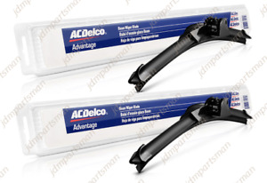Acdelco Advantage Beam Wiper Blade 24 17 set Of 2 Front 8 9024 8 9017