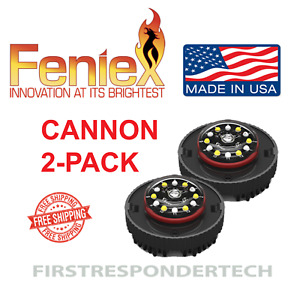 2x Feniex Cannon Hide a way Led Light Single Or Dual Color H 2209 Set Of 2