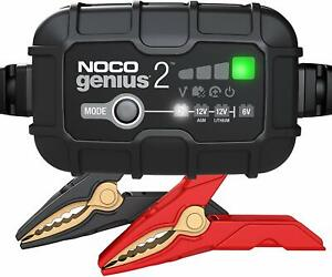 Noco Genius2 G1100 Rplcmt 2 Amp Smart Battery Charger Maintainer Desulfator