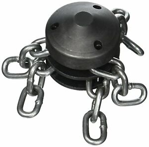 New Ridgid 62940 T114 4 Inch Chain Knocker