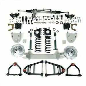 1964 1970 Ford Mustang Ii 2 Complete Front End Suspension Kit Ifs Hub To Hub 1