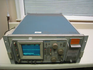 Tektronix 492p Programmable Spectrum Analyzer W Power Cord Free Shipping