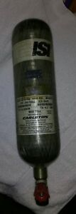 Scba 30 Minute 4500 Psi Air Cylinder Tank Isi Carleton Dated 12 06 Hydro On 8 16