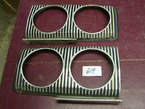 67 Coronet Headlight Bezels