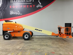 2005 Jlg 600s Pneumatic Telescopic Boom Lift 4x4 Diesel Man Lift