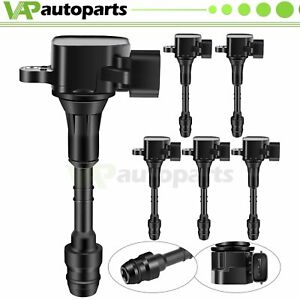 Pack Of 6 New Ignition Coils For Nissan Altima Maxima 3 5 L 4 0l V6 C1406
