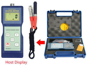 Paint Meter Coating Thickness Gauge With F Probe Thickness Measuring 0 1000 m