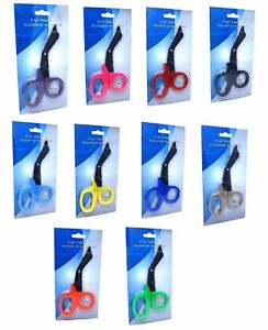 12 Fluoride Coated Emt Shears scissors Bandage Paramedic Ems Supplies 7 25