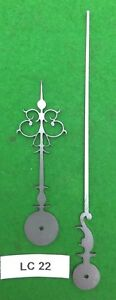 Antique Clock Hands From Original Design Early Longcase Lc22 Made In England