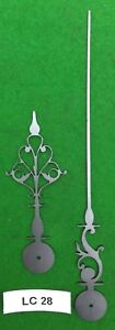 Antique Clock Hands From Original Design Early Longcase Lc28 Made In England