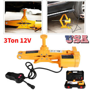 3 Ton Heavy Duty Electric Floor Jack Lift Suv Car Emergency Repair Lifting Tool