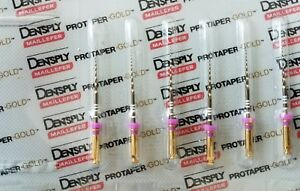 Protaper Gold Rotary Files 25 Mm S1 Dentsply Endodontics Endo